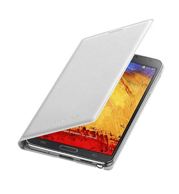 Samsung Husa Flip Cover Black EF-WN900BW Samsung Galaxy Note 3